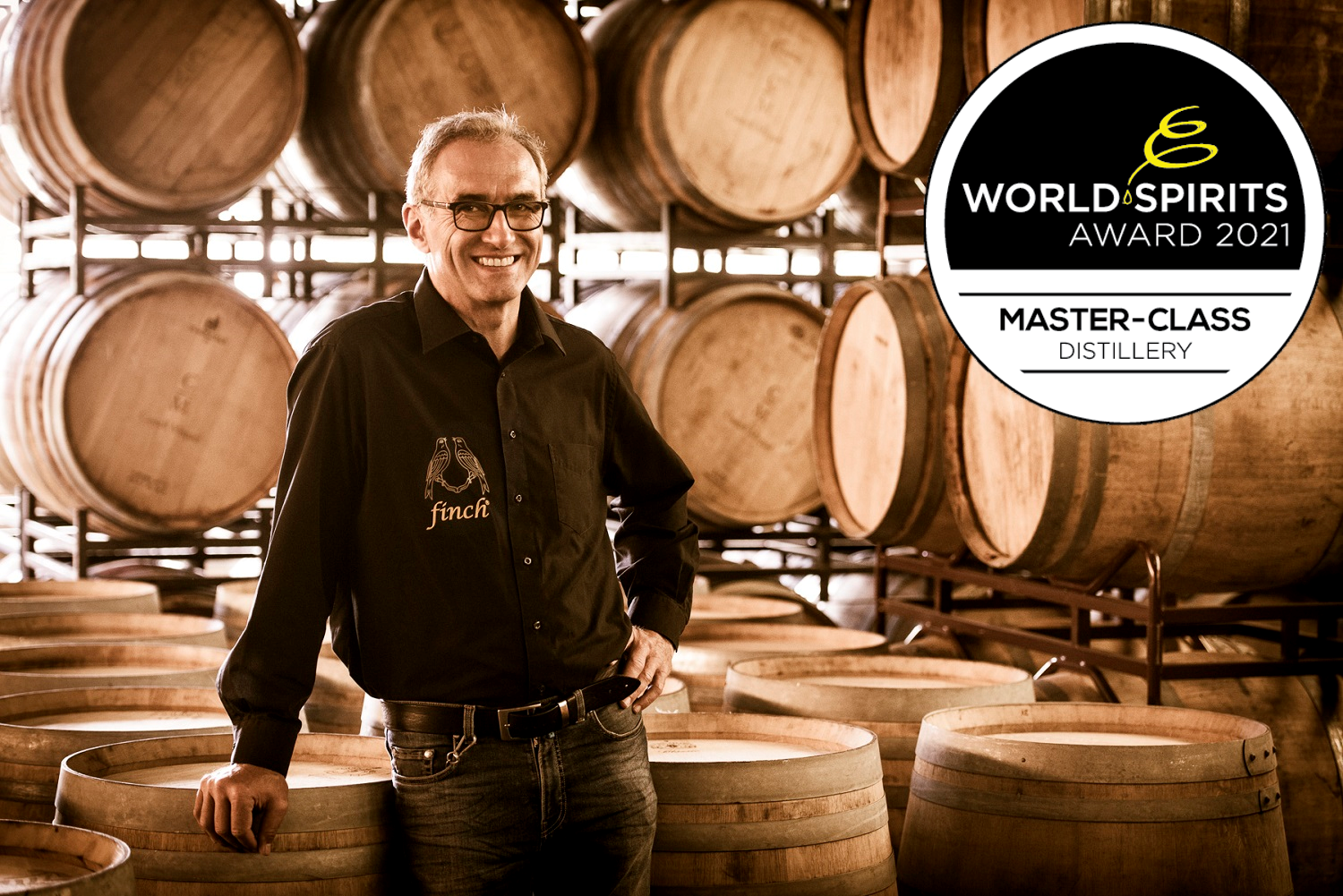 finch® - beste Whiskydestillerie der World Spirits Award 2021