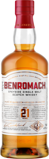 Benromach Distillery - Benromach 21 years old
