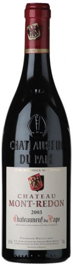 CHATEAUNEUF DU PAPE ROUGE - HALBE FLASCHE