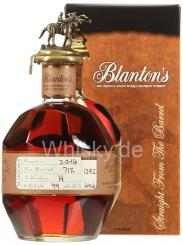 BLANTON`S STRAIGHT FROM THE BARREL