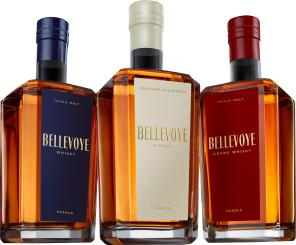 Bellevoye Trio 3x0,2l Whisky